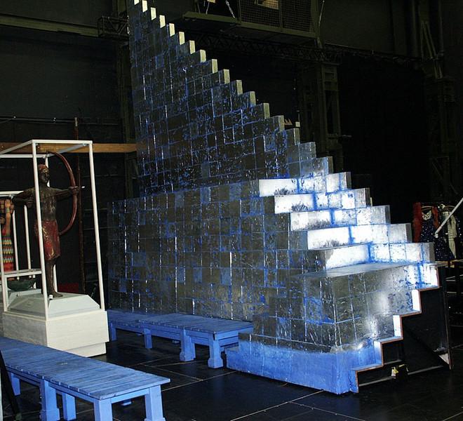 aida musical backstage im colosseum theater essen. Black Bedroom Furniture Sets. Home Design Ideas