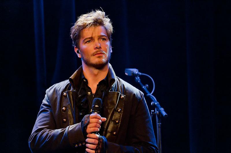 Musical-Star Jan Ammann Konzert Lampenfieber - Musical-World