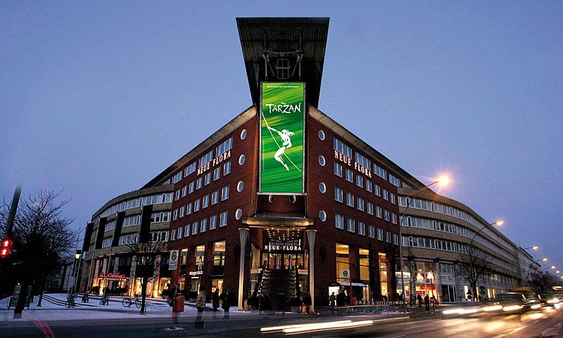 Musical Tarzan 2008-2013 In Hamburg, 2014 In Stuttgart
